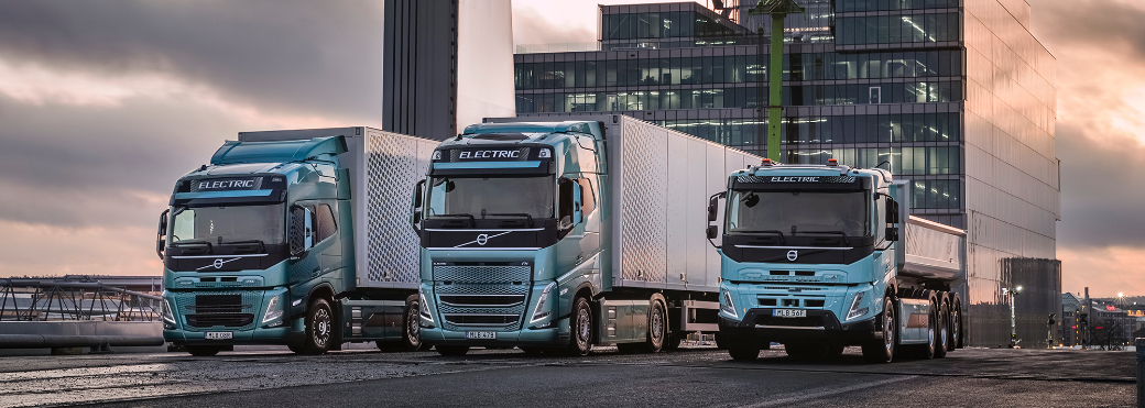 Volvo Trucks: Elektropower beim Gütertransport