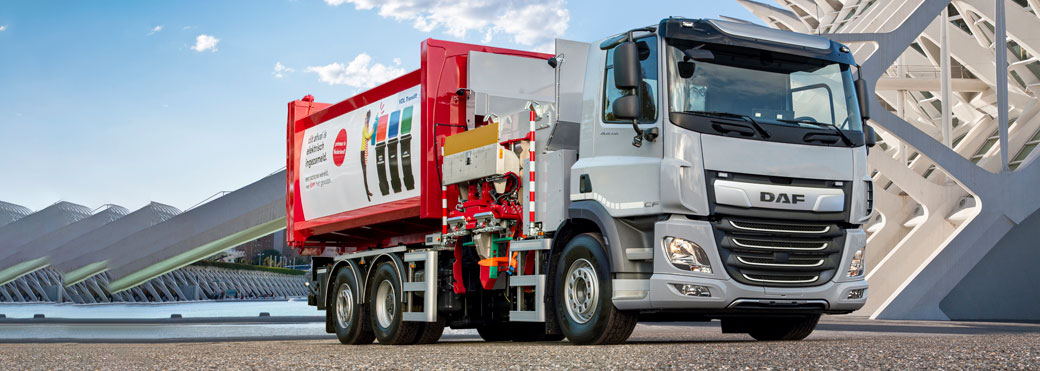 DAF CF Electric als 6x2-Fahrgestell