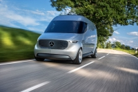Mercedes-Benz Vans: Hightech-Transporter wie aus einem Science-Fiction-Film