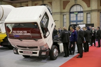 "London: Canter E-Cell auf der ""Freight in the City"""