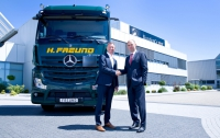 Mercedes-Benz: neuer Actros im Silotransport