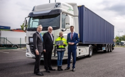 DAF CF Electric für Rhenus Logistics